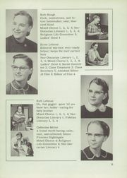 Page 15, 1956 Edition, Johnstown Mennonite School - Mem O Re Yearbook (Johnstown, PA) online yearbook collection