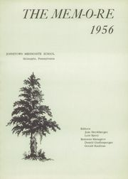 Page 5, 1956 Edition, Johnstown Mennonite School - Mem O Re Yearbook (Johnstown, PA) online yearbook collection