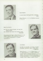 Page 14, 1957 Edition, Johnstown Mennonite School - Mem O Re Yearbook (Johnstown, PA) online yearbook collection