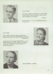 Page 15, 1957 Edition, Johnstown Mennonite School - Mem O Re Yearbook (Johnstown, PA) online yearbook collection