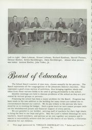 Page 6, 1957 Edition, Johnstown Mennonite School - Mem O Re Yearbook (Johnstown, PA) online yearbook collection