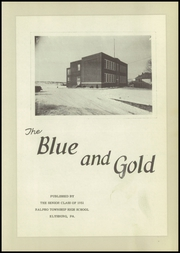 Page 7, 1951 Edition, Ralpho Township High School - Blue and Gold Yearbook (Elysburg, PA) online yearbook collection