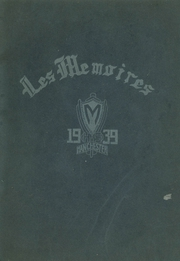1939 Edition, Manchester High School - Les Memoires Yearbook (Manchester, PA)