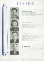 Page 12, 1940 Edition, Manchester High School - Les Memoires Yearbook (Manchester, PA) online yearbook collection