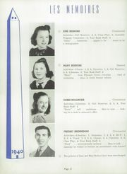 Page 16, 1940 Edition, Manchester High School - Les Memoires Yearbook (Manchester, PA) online yearbook collection