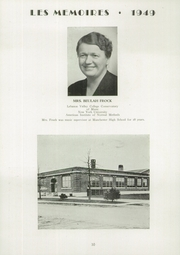 Page 12, 1949 Edition, Manchester High School - Les Memoires Yearbook (Manchester, PA) online yearbook collection