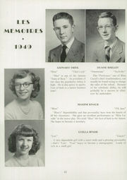 Page 14, 1949 Edition, Manchester High School - Les Memoires Yearbook (Manchester, PA) online yearbook collection