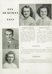 Page 16, 1949 Edition, Manchester High School - Les Memoires Yearbook (Manchester, PA) online yearbook collection