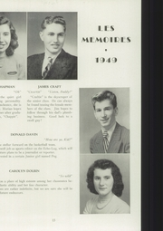 Page 17, 1949 Edition, Manchester High School - Les Memoires Yearbook (Manchester, PA) online yearbook collection