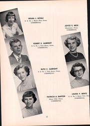 Page 16, 1952 Edition, Manchester High School - Les Memoires Yearbook (Manchester, PA) online yearbook collection