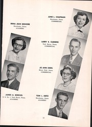 Page 17, 1952 Edition, Manchester High School - Les Memoires Yearbook (Manchester, PA) online yearbook collection