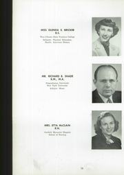 Page 16, 1954 Edition, Manchester High School - Les Memoires Yearbook (Manchester, PA) online yearbook collection