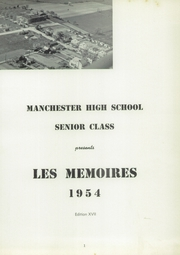 Page 3, 1954 Edition, Manchester High School - Les Memoires Yearbook (Manchester, PA) online yearbook collection