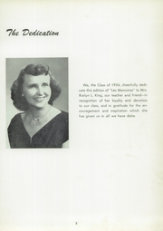 Page 5, 1954 Edition, Manchester High School - Les Memoires Yearbook (Manchester, PA) online yearbook collection