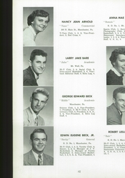 Page 64, 1954 Edition, Manchester High School - Les Memoires Yearbook (Manchester, PA) online yearbook collection