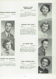 Page 65, 1954 Edition, Manchester High School - Les Memoires Yearbook (Manchester, PA) online yearbook collection