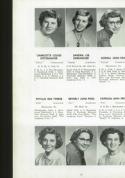 Page 66, 1954 Edition, Manchester High School - Les Memoires Yearbook (Manchester, PA) online yearbook collection