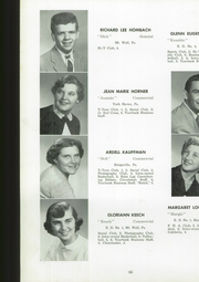 Page 68, 1954 Edition, Manchester High School - Les Memoires Yearbook (Manchester, PA) online yearbook collection