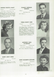 Page 69, 1954 Edition, Manchester High School - Les Memoires Yearbook (Manchester, PA) online yearbook collection