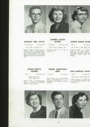 Page 70, 1954 Edition, Manchester High School - Les Memoires Yearbook (Manchester, PA) online yearbook collection