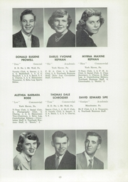 Page 71, 1954 Edition, Manchester High School - Les Memoires Yearbook (Manchester, PA) online yearbook collection