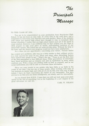 Page 9, 1954 Edition, Manchester High School - Les Memoires Yearbook (Manchester, PA) online yearbook collection