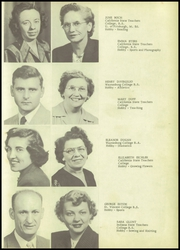 Page 13, 1952 Edition, Perry Lower Tyrone High School - Petosean Yearbook (Perryopolis, PA) online yearbook collection
