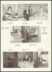 Page 9, 1959 Edition, Perry Lower Tyrone High School - Petosean Yearbook (Perryopolis, PA) online yearbook collection
