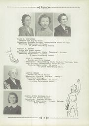 Page 11, 1946 Edition, Petersburg High School - Alpha Yearbook (Petersburg, PA) online yearbook collection