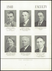 Page 11, 1940 Edition, Brown Preparatory School - Brownian Yearbook (Philadelphia, PA) online yearbook collection