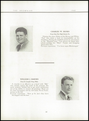 Page 14, 1940 Edition, Brown Preparatory School - Brownian Yearbook (Philadelphia, PA) online yearbook collection