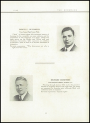 Page 17, 1940 Edition, Brown Preparatory School - Brownian Yearbook (Philadelphia, PA) online yearbook collection