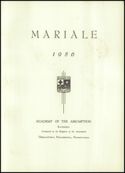 Page 5, 1956 Edition, Ravenhill Academy - Mariale Yearbook (Philadelphia, PA) online yearbook collection