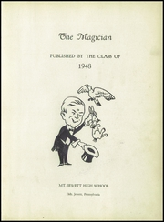 Page 7, 1948 Edition, Mount Jewett High School - Magician Yearbook (Mount Jewett, PA) online yearbook collection