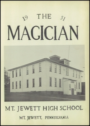 Page 7, 1951 Edition, Mount Jewett High School - Magician Yearbook (Mount Jewett, PA) online yearbook collection