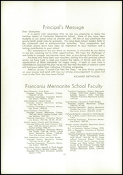 Page 14, 1950 Edition, Franconia Mennonite School - Laureate Yearbook (Souderton, PA) online yearbook collection