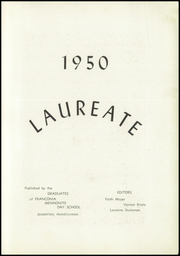 Page 5, 1950 Edition, Franconia Mennonite School - Laureate Yearbook (Souderton, PA) online yearbook collection