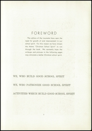 Page 9, 1950 Edition, Franconia Mennonite School - Laureate Yearbook (Souderton, PA) online yearbook collection