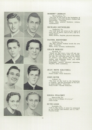 Page 13, 1952 Edition, Franconia Mennonite School - Laureate Yearbook (Souderton, PA) online yearbook collection