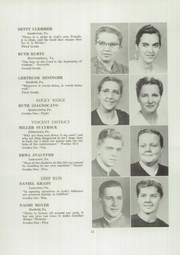 Page 14, 1952 Edition, Franconia Mennonite School - Laureate Yearbook (Souderton, PA) online yearbook collection