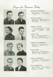 Page 16, 1953 Edition, Franconia Mennonite School - Laureate Yearbook (Souderton, PA) online yearbook collection