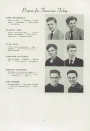 Page 17, 1953 Edition, Franconia Mennonite School - Laureate Yearbook (Souderton, PA) online yearbook collection