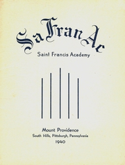 1940 Edition, St Francis Academy - SaFranAc Yearbook (Pittsburgh, PA)