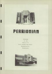 Page 7, 1950 Edition, Perry High School - Perrionian Yearbook (Shoemakersville, PA) online yearbook collection