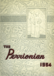 1954 Edition, Perry High School - Perrionian Yearbook (Shoemakersville, PA)