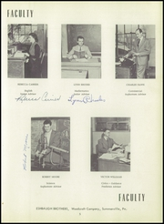 Page 15, 1954 Edition, Summerville High School - Tomahawk Yearbook (Summerville, PA) online yearbook collection