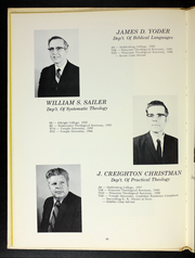 Page 14, 1971 Edition, Evangelical Seminary - Evangel Yearbook (Myerstown, PA) online yearbook collection