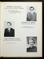 Page 15, 1971 Edition, Evangelical Seminary - Evangel Yearbook (Myerstown, PA) online yearbook collection