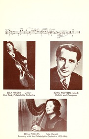 Page 11, 1947 Edition, Philadelphia Conservatory of Music - Variations Yearbook (Philadelphia, PA) online yearbook collection