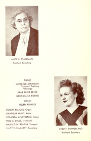 Page 14, 1947 Edition, Philadelphia Conservatory of Music - Variations Yearbook (Philadelphia, PA) online yearbook collection